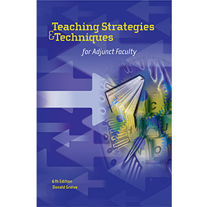 [USED BOOKS] Teaching Strategies & Techniques for Adjunct Faculty, 6th Edition